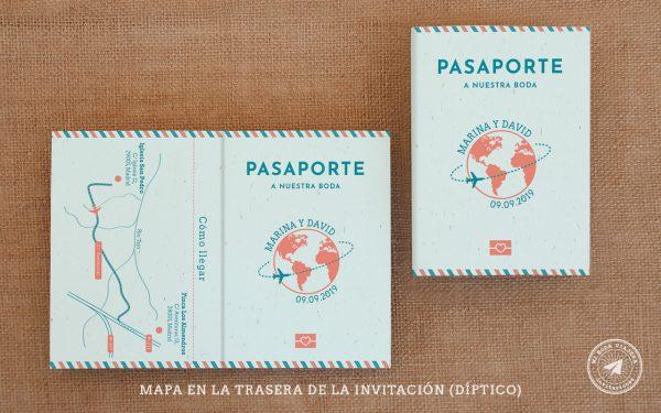 invitaciones de boda pasaporte, invitaciones viajeras12
