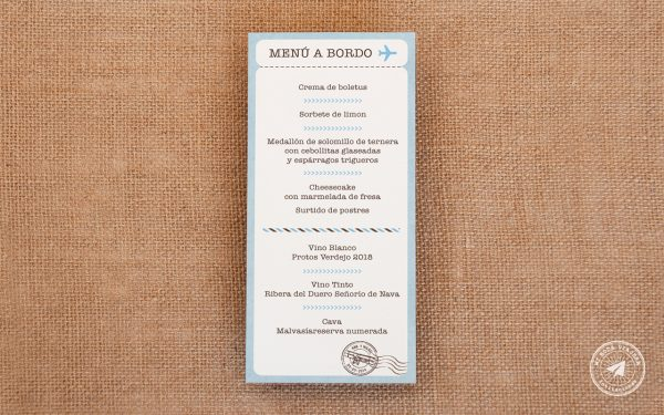 minutas de boda, minutas de boda viajeras, menu de boda, menu de boda viajes